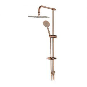 علم دوش حمام مدل تینا رزگلد راسان
