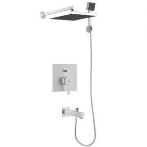 شیر حمام تیپ4 توکار مدل آوا سفید کی دبلیو سی