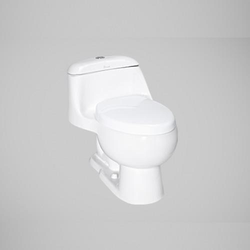 توالت فرنگی چینی کرد مدل لیلیوم کوچک