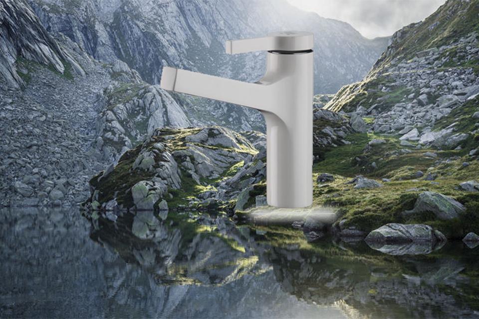 شیر روشویی مدل آوا سفید کی دبلیو سی