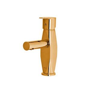 شیر روشویی مدل برلیان طلایی کلار
