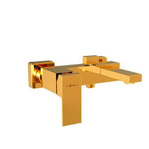 شیر حمام مدل اروپا طلا شودر