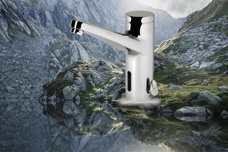 شیر روشویی الکترونیکی مدل دومو کی دبلیو سی