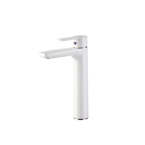 شیر روشویی پایه بلند مدل ریتا سفید کی دبلیو سی