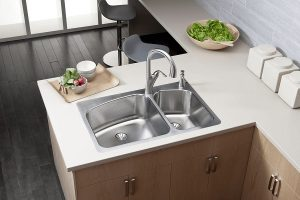 استیل ضد زنگ سینک ظرفشویی